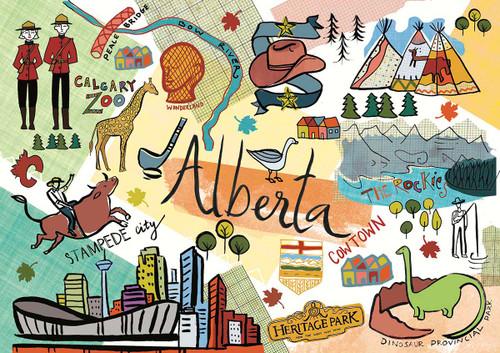 """Alberta"" 1000 Piece Jigsaw Puzzle | Trefl"