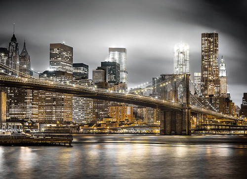"""New York Skyline"" 1000 Piece Jigsaw Puzzle 