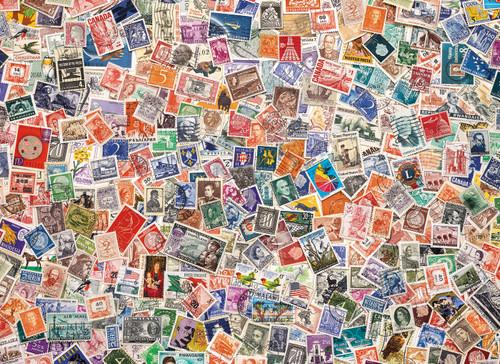 """Stamps"" 1000 Piece Jigsaw Puzzle | Clementoni"