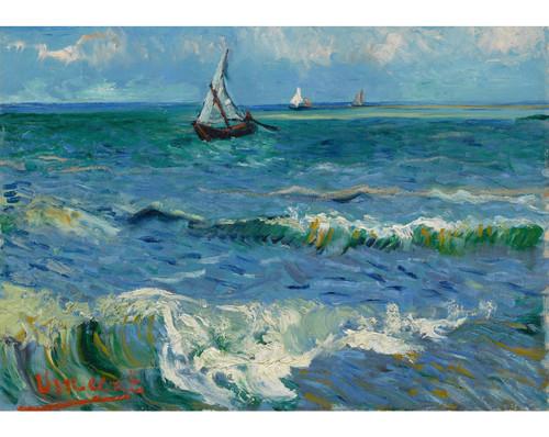 """""""Seascape near Les Saintes-Maries-de-la-Mer"""" *Pre-Owned* 500 Piece Wentworth Wooden Jigsaw Puzzle"""
