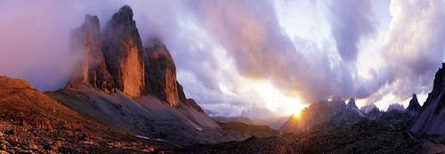 """3 Peaks, Humboldt"" 1000 Piece *Panorama* Jigsaw Puzzle | Heye"