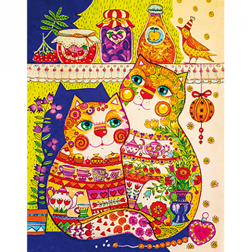 """""""In The Pantry"""" 130 Piece Premium Wooden Jigsaw Puzzle 