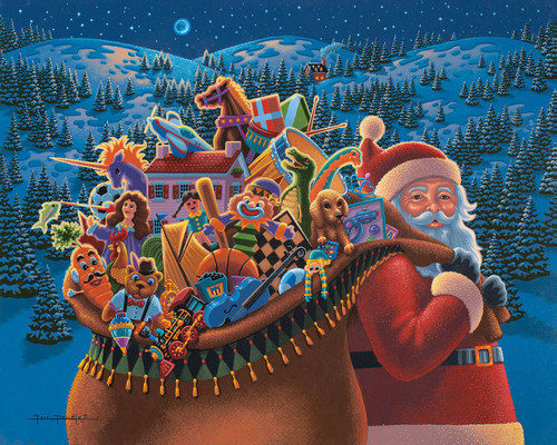 """""""Christmas Delivery"""" 100 Piece Jigsaw Puzzle 