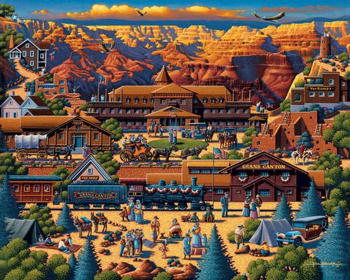"""Grand Canyon"" 1000 Piece Jigsaw Puzzle   Dowdle"