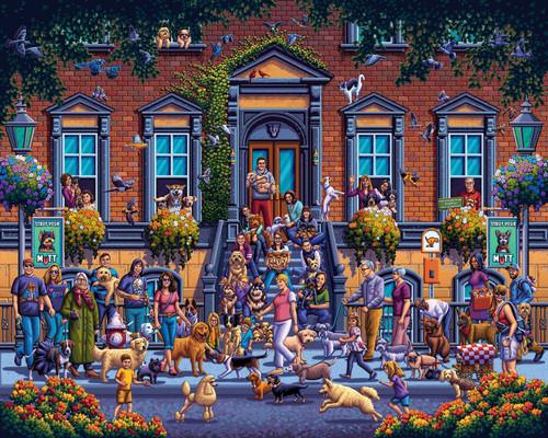 """Strut Your Mutt"" 300 Piece Jigsaw Puzzle | Dowdle"