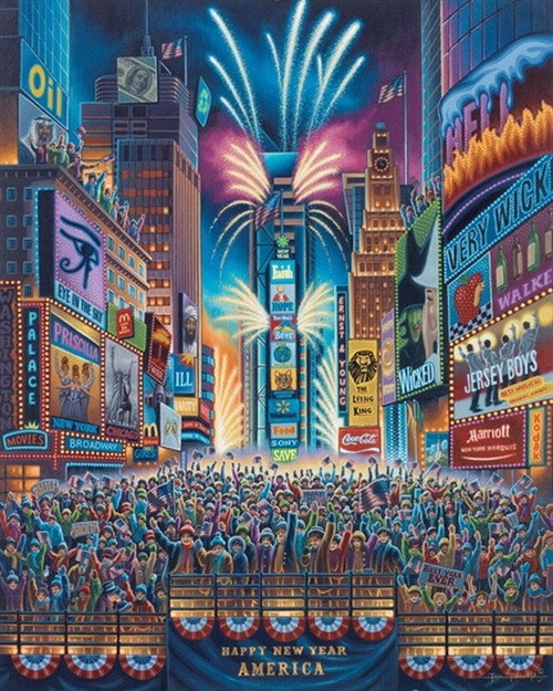 """Times Square"" 500 Piece Jigsaw Puzzle 