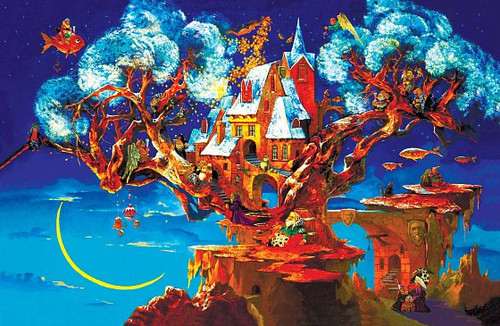 """Tree of Dreams"" 193 Piece Premium Wooden Jigsaw Puzzle 