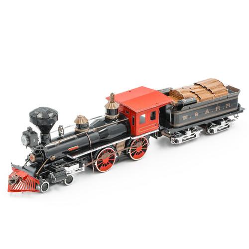 Wild West 4-4-0 Locomotive Metal Model Kit   MMS191   Metal Earth
