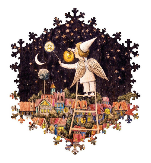 """""""If The Stars Are Lit"""" 95 Piece Premium Wooden Jigsaw Puzzle   DaVICI"""