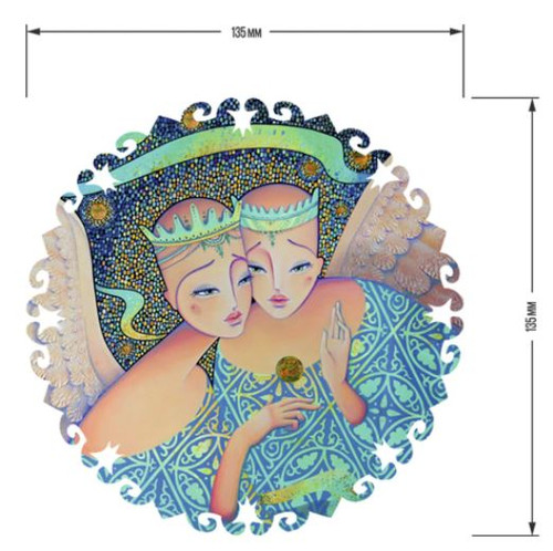 """The Birth of a Star"" 30 Piece Premium Wooden Jigsaw Mini Puzzle 