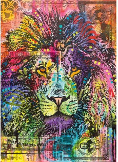 """Lion's Heart"" 2000 Piece Jigsaw Puzzle   Heye"