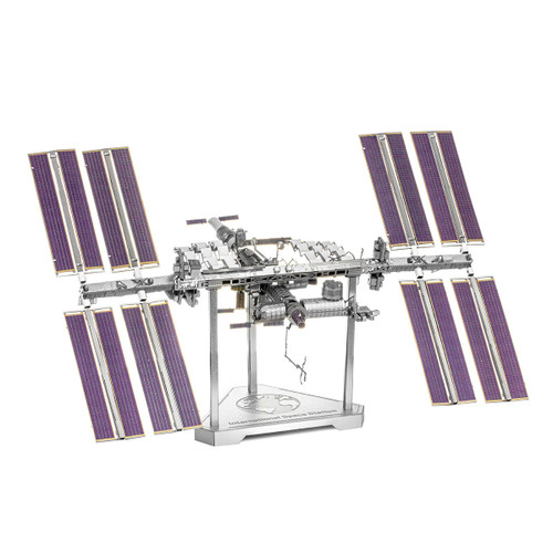 """ISS - International Space Station"" Metal Model Kit 