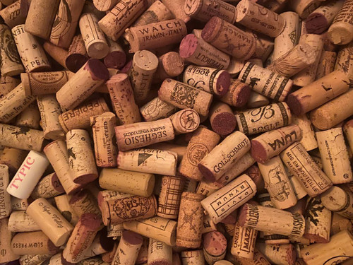 """""""Uncorked"""" 500 Piece *Geometric Cut* Wooden Jigsaw Puzzle   Whimsy Wood Puzzles"""
