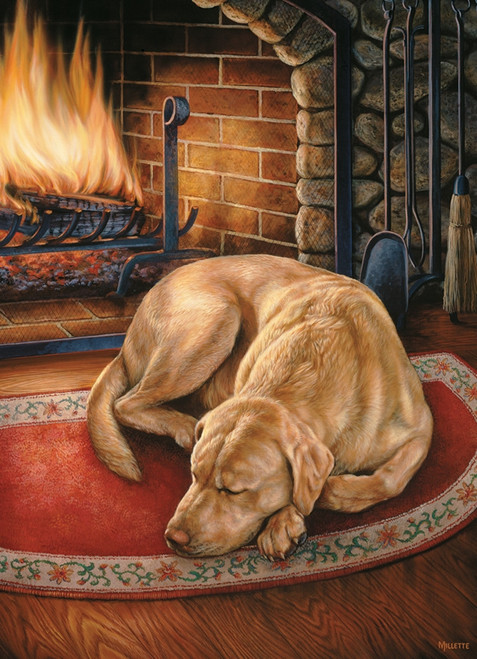 """Home Is Where The Dog Is"" 1000 Piece Jigsaw Puzzle 