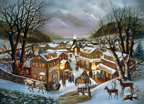 """I Remember Christmas"" 1000 Piece Jigsaw Puzzle 