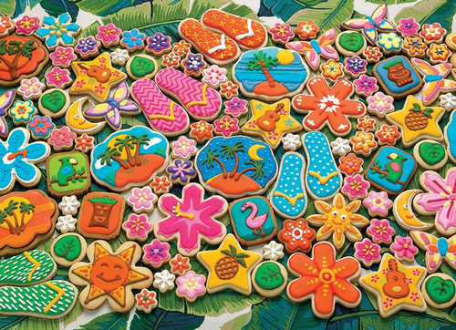"""Tropical Cookies"" 1000 Piece Jigsaw Puzzle 