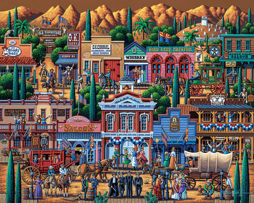 """Tombstone"" 500 Piece Jigsaw Puzzle | Dowdle"