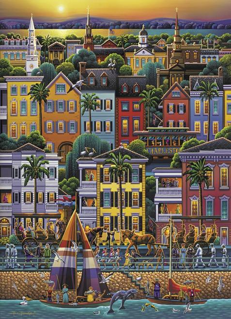 """""""Charleston"""" 1000 Piece Jigsaw Puzzle   Dowdle"""