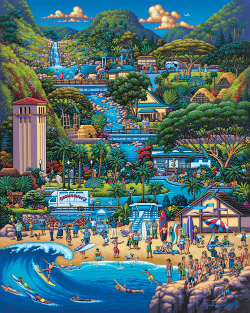 """North Shore"" 1000 Piece Jigsaw Puzzle   Dowdle"