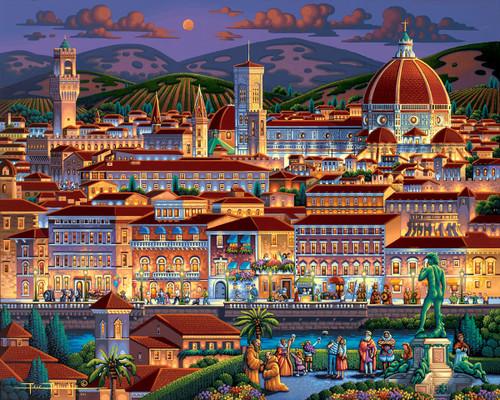 """Florence"" 500 Piece Jigsaw Puzzle | Dowdle"