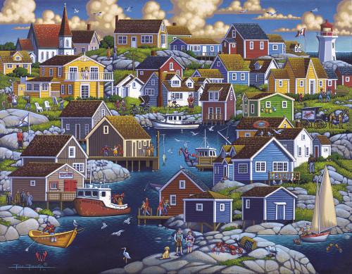 """Peggy's Cove"" 1000 Piece Jigsaw Puzzle | Dowdle"
