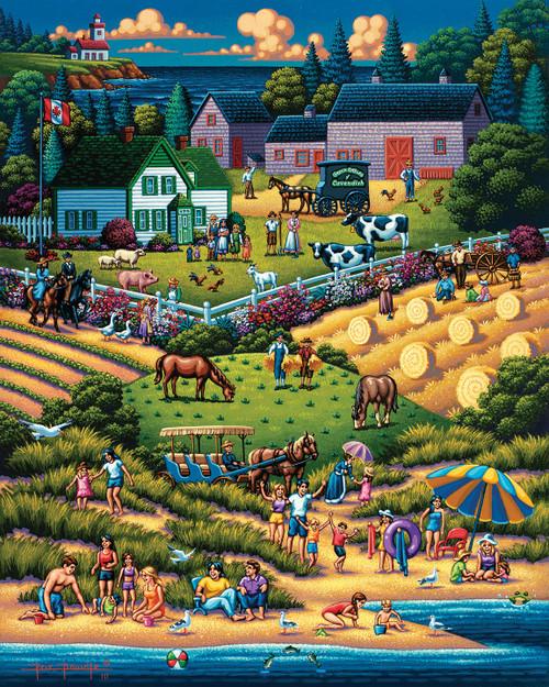"""Prince Edward Island Green Gables"" 1000 Piece Jigsaw Puzzle | Dowdle"