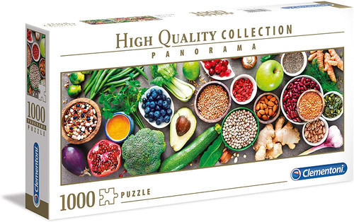 """Healthy Veggies"" 1000 Piece *Panorama* Jigsaw Puzzle 