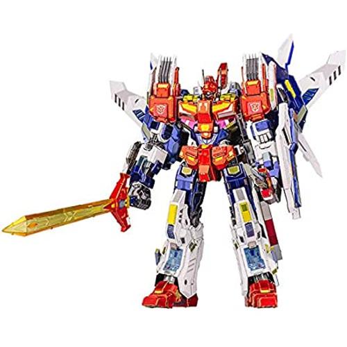 """Star Saber"" Transformers IDW Version Metal Model Kit | MU Model"