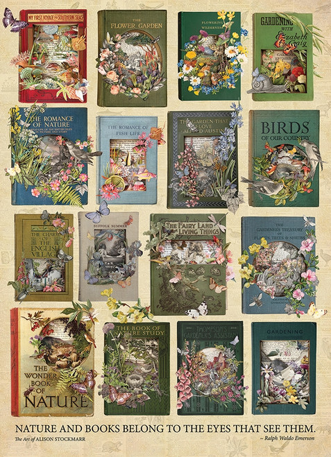 """The Nature of Books"" 1000 Piece Jigsaw Puzzle 