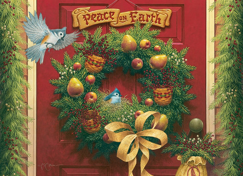 """""""Peace on Earth"""" 1000 Piece Jigsaw Puzzle 