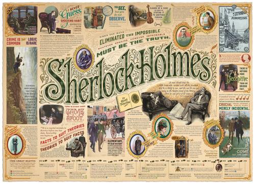 """Sherlock"" 1000 Piece Jigsaw Puzzle | Cobble Hill"