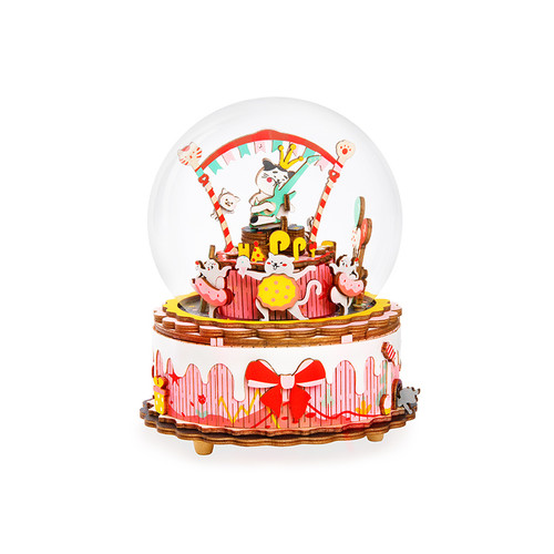 """The Birthday Song"" Wooden Model Music Box Kit 