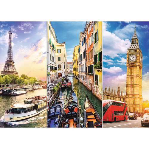 """Trip in Europe"" 4000 Piece Jigsaw Puzzle 