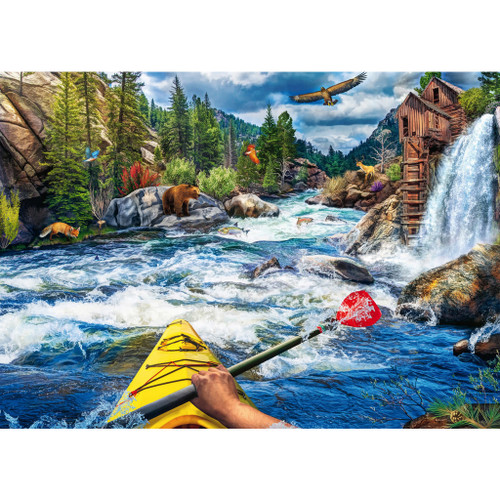"""Whitewater Kayaking"" 1000 Piece Jigsaw Puzzle | Ravensburger"
