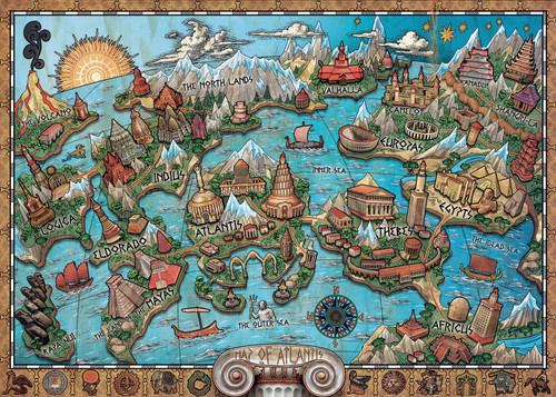 """Mysterious Atlantis"" 1000 Piece Jigsaw Puzzle | Ravensburger"