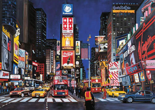 """Times Square, NYC"" 1000 Piece Jigsaw Puzzle 