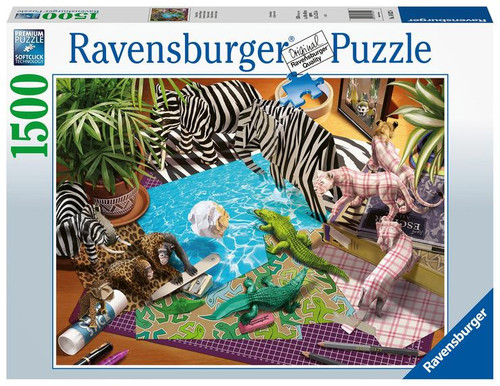 """Origami Adventure"" 1500 Piece Jigsaw Puzzle 