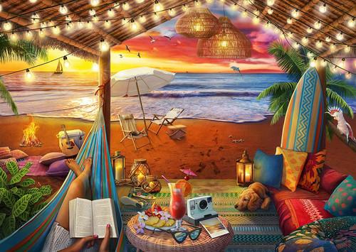 """Cozy Cabana"" 500 Piece Jigsaw Puzzle | Ravensburger"
