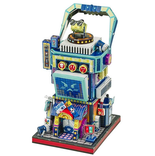 """Karaoke Bar"" Metal Model Kit 