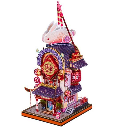 """Blessed Rabbit Lantern"" *Chinese New Year Series* Metal Model Kit 
