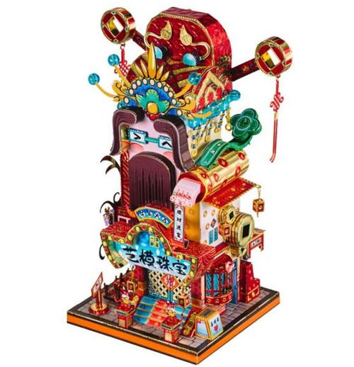 """Jewellery From The God Of Wealth"" *Chinese New Year Series* Metal Model Kit 