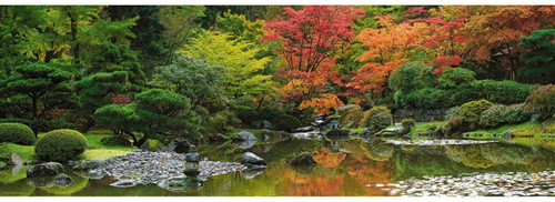 """Zen Reflection"" 1000 Piece *Panorama* Jigsaw Puzzle 