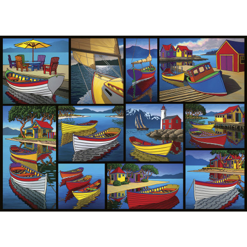 """On The Water"" 1000 Piece Jigsaw Puzzle 