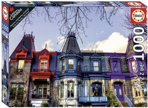 """""""Victorian Houses"""" 1000 Piece Jigsaw Puzzle 