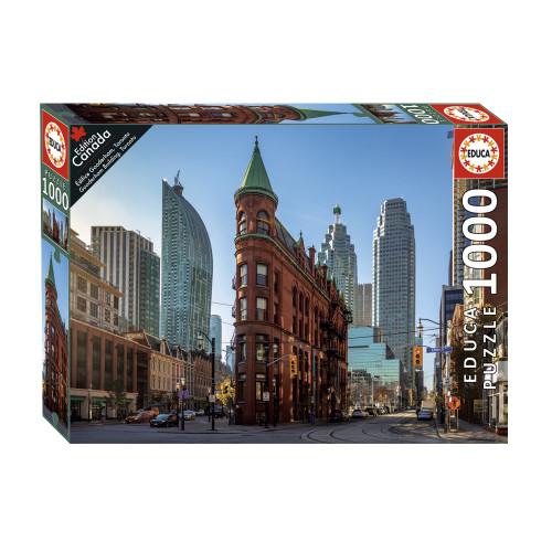 """Gooderham Building, Toronto"" 1000 Piece Jigsaw Puzzle | Educa"