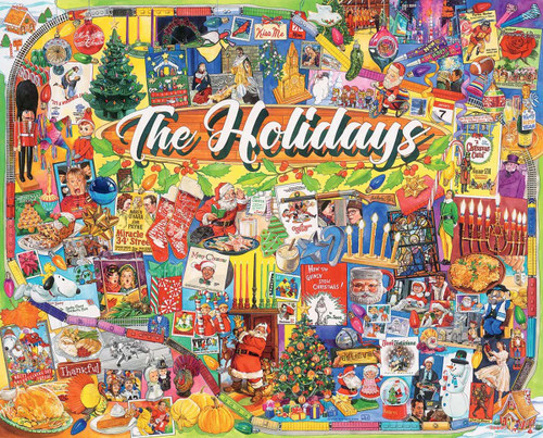 """""""The Holidays"""" 1000 Piece Jigsaw Puzzle 