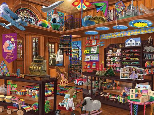 """Toy Shop"" 1000 Piece Jigsaw Puzzle | White Mountain"