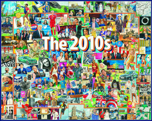"""""""The 2010's"""" 1000 Piece Jigsaw Puzzle 