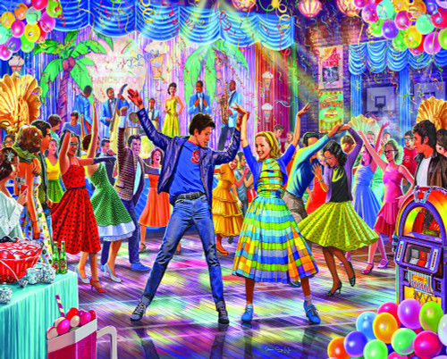 """Let's Dance"" 1000 Piece Jigsaw Puzzle | White Mountain"
