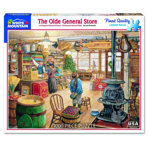 """""""The Olde General Store"""" 1000 Piece Jigsaw Puzzle 